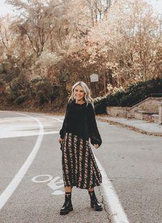 Combinação Preferida de Inverno: Suéter + Saia - Comer Blogar e Amar
