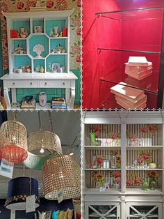 Spring Trend: Unexpected Color From HGTV's Design Happens Blog (http://blog.hgtv.com/design/2013/04/25/top-trends-at-high-point-market/?soc=pinterest)