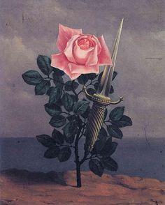 René Magritte Le coup au coeur (The blow to the heart), 1952