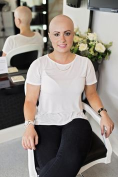 Brave hair loss sufferer shares her story