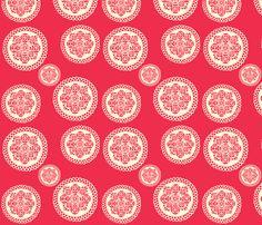 doily  fabric by heidikenney on Spoonflower - custom fabric