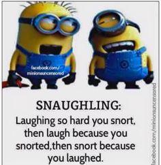 Snaughling
