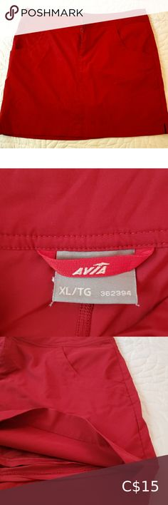 Avia Skort Avia golf skort. Stretch fabric. 🌟Excellent used condition 🌟Reasonable offers considered. 🌟5 Star seller 🌟Fast ship Avia Shorts Skorts Plus Fashion, Fashion Tips, Fashion Trends, Skorts, Short Skirts, Flare Dress, Stretch Fabric, Fit And Flare, Gym Shorts Womens
