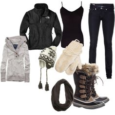 winter outfits canada Cant wait for my Sorels! Fall Winter Outfits, Winter Wear, Autumn Winter Fashion, Winter Ootd, Snow Outfit, Legging Outfits, Jenifer Aniston, Snow Fashion, Polyvore Outfits