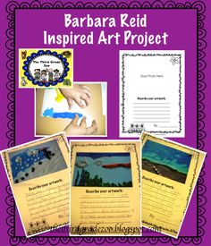 Check out this fabulous Barbara Reid inspired art project from thethirdgradezoo. 3rd Grade Art, Grade 2, Second Grade, Lessons For Kids, Art Lessons, Literacy Day, Summer Art Projects, Teaching Art, Teaching Ideas