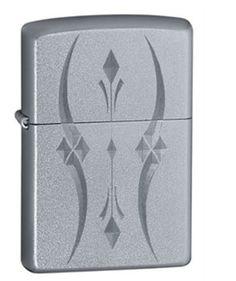 Classic Satin Chrome Zippo Lighter