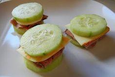 Zaggora healthy veggie recipes -  cucumber sandwiches