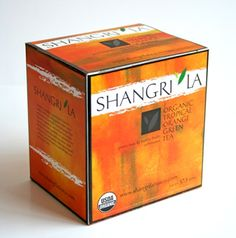 All of Shangri La's tea gardens are Rainforest Alliance members - Orange green tea