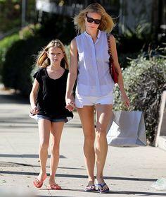 Gwyneth Paltrow and Apple Martin
