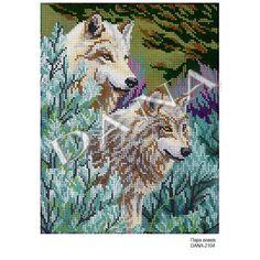 Купити Пара вовків DANA-2104 в інтернет магазині biser0k.com.ua
