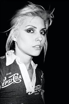 Debbie Harry one of the original bad girls of rock :)    Who didn't have a crush on her at some point in high school?