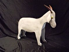 Goat sculpture. Steel sculpture Goat statue Metal by IRONINSANITY