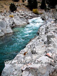 LaDuke Adventures: Kirkham Hot Spring - Lowman Idaho