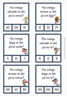 Tid - omvandling Free Teaching Resources, Teaching Math, Learn Swedish, Swedish Language, Arabic Lessons, Snapchat Quotes, Classroom Inspiration, Classroom Ideas, Reggio Emilia