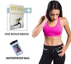 Running Belt Waist Packs with zipper easy to use | Runners Belt designed with 2-in-1 colors for iPhone and all Smartphones | 2 Bonuses: Guide to Running & Waterproof Phone case (XS-XL). For fitness, jogging, biking, hiking, traveling, holding medical devices (insulin pumps, asthma). Lightweight and low profile to the point where you'll forget it's on while walking or exercise. For both men and women, waist belt comes in three colors: green, blue and pink and five sizes. Machine washable…