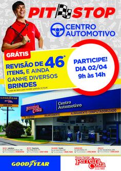 Lâmina A5 - Pit Stop Centro Autmotivo Ferreira Costa.