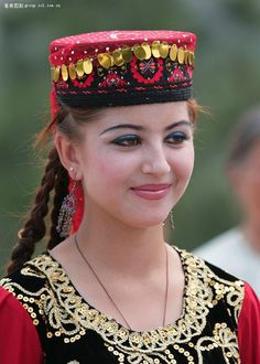 Young Kazakh woman