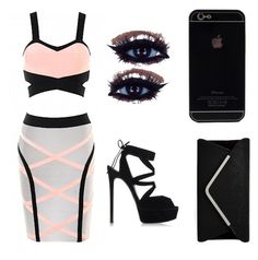 """""""Night Out"""" by ariesbeautyprincess on Polyvore"""