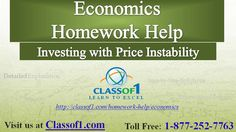 Investing with Price Instability: Visit http://www.slideshare.net/Classof1HomeworkHelp/economics-ra66  to read the article
