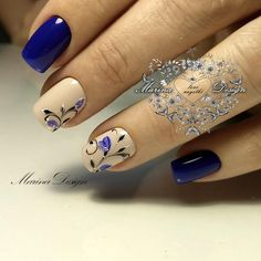 Fabulous Nails, Gorgeous Nails, Pretty Nails, Beautiful Nail Designs, Beautiful Nail Art, Glam Nails, Beauty Nails, Nail Polish Designs, Nail Art Designs