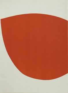 ELLSWORTH KELLY Derrière Le Miroir No. 110, Untitled 1958 one-colour lithograph, unsigned 43.5 x 33.5cm (framed size),