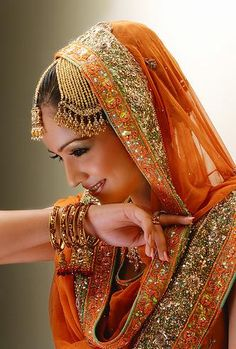 Beautiful Pakistani bridal dress