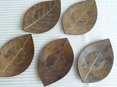 Craft In Japan: 5 set of used Chataku.( teacup saucers)