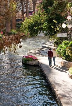 The San Antonio River Walk.  It's always fun, but go during Christmas at night...so pretty!