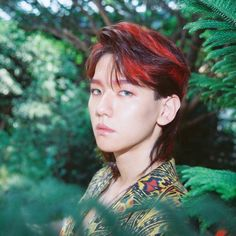 Teaser Image EXO comeback - Baekhyun Please tell me why they decided to give him a MULLET FRIENDS DONT LET FRIENDS HAVE MULLETS