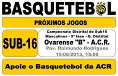 ACR: Basquetebol > 15 Junho 2013 #ValeDeCambra