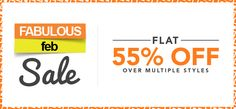 Jabong Offers: Flat 55% off on Over Multiple Style