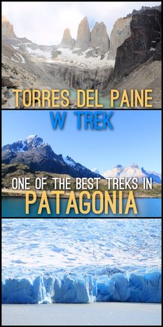Torres del Paine W Trek: One of the best Treks in Patagonia  Read More: http://mismatchedpassports.com/2015/11/28/torres-del-paine-w-trek-4-days-best-treks-patagonia/  #travel #Patagonia #Chile