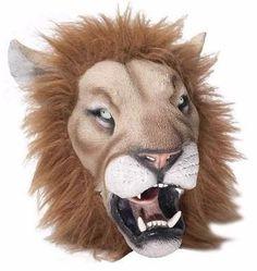 mascara de leon adulto para fiesta
