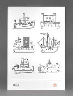Boats Poster - FPO: For Print Only