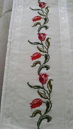 Cross Stitch Borders, Cross Stitch Patterns, Bargello, Border Design, Crotchet, Cross Stitch Embroidery, Needlework, Free Pattern, Easy Cross Stitch
