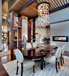 Dining contemporary dining room