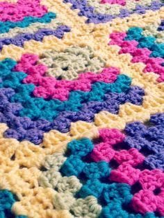 crochet granny square baby blanket at @Kay Richards Fenn.make.laugh.