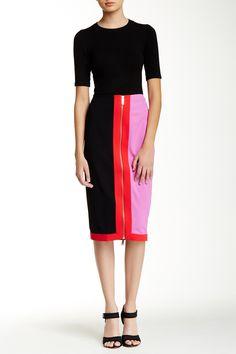 Martya Colorblock Pencil Skirt by Ted Baker London on @nordstrom_rack