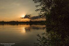 Sonnenuntergang am Kiesschacht 🌅