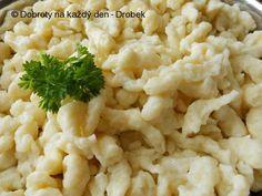 Recept Bramborové špecle - Naše Dobroty na každý den