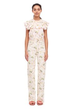 Firefly Floral Top   Rebecca Taylor