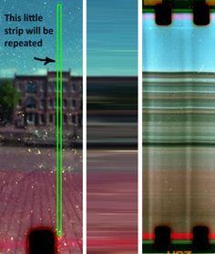 DIY slit scan camera