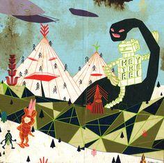 Wilson Hsu, criaturas futuristas - http://www.anormalmag.com/showcase/wilson-hsu/