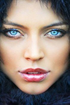 Gorgeous blue #eyes