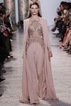 if only it weren't pants underneath...Elie Saab Spring 2017 Couture Fashion Show