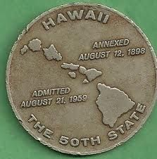 Hawaii ~ The 50th State the state we pillaged from the Hawaiian People! Remember that! and respect their culture and land!