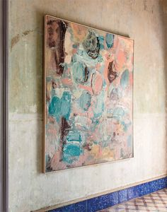 a havana home filled with art and color