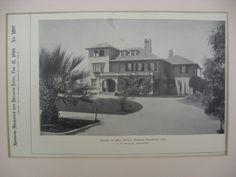 Greble House, Pasadena, CA, 1899, T. W. Parker