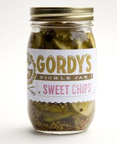 Gordy's handcrafted pickles and preserves are a labor of love. Each thoughtfully designed recipe uses fresh, local produce & responsibly cultivated spices.""
