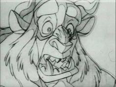 Beast pencil transformation (Beauty and the Beast) - YouTube